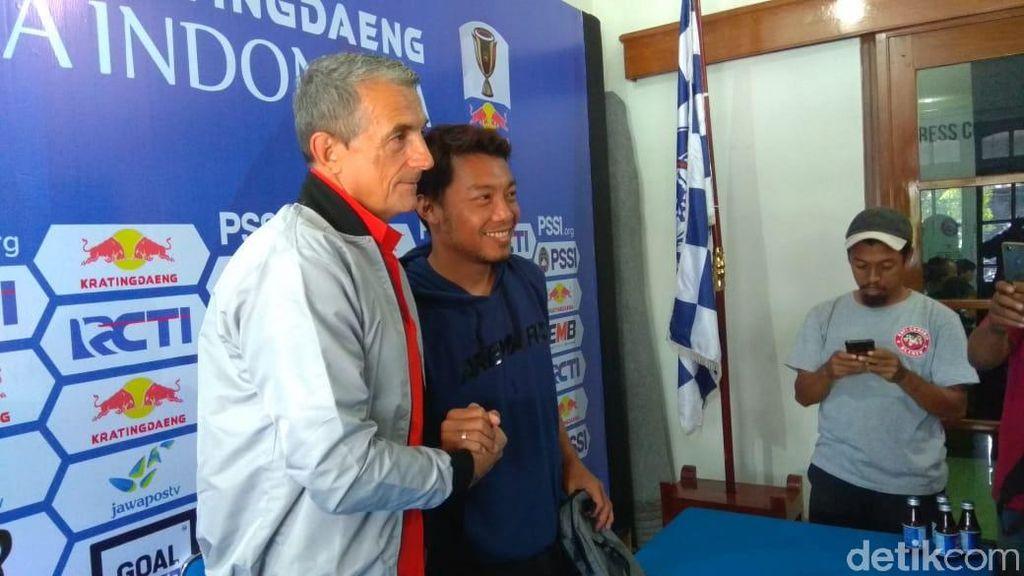 Menjamu Persib, Arema FC Takkan Main Aman