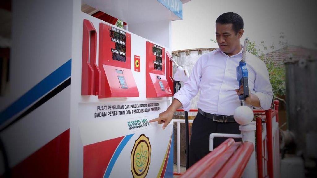 Kementan Klaim Sukses Kembangkan Biodiesel B 100