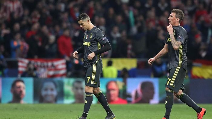 Juventus kalah dari Atletico Madrid. (Foto: Angel Martinez/Getty Images)