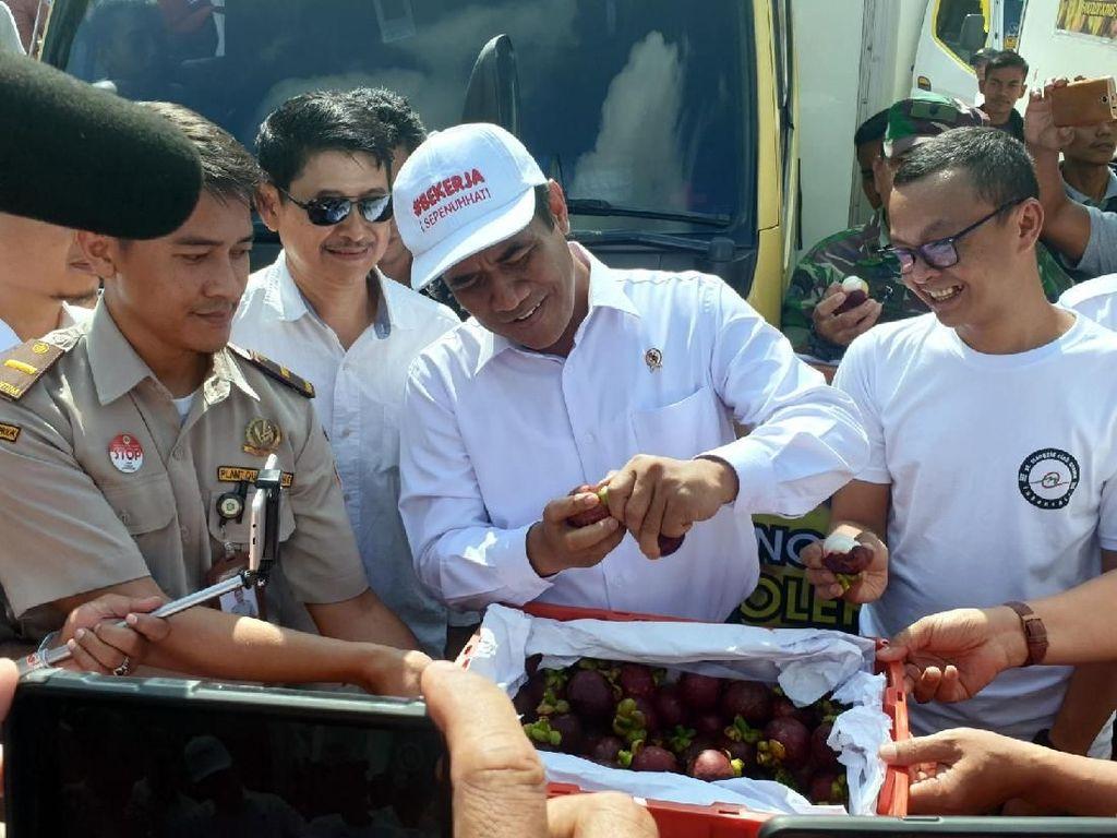 Lagi, Kementan Ekspor Manggis Asal Sumatera ke China