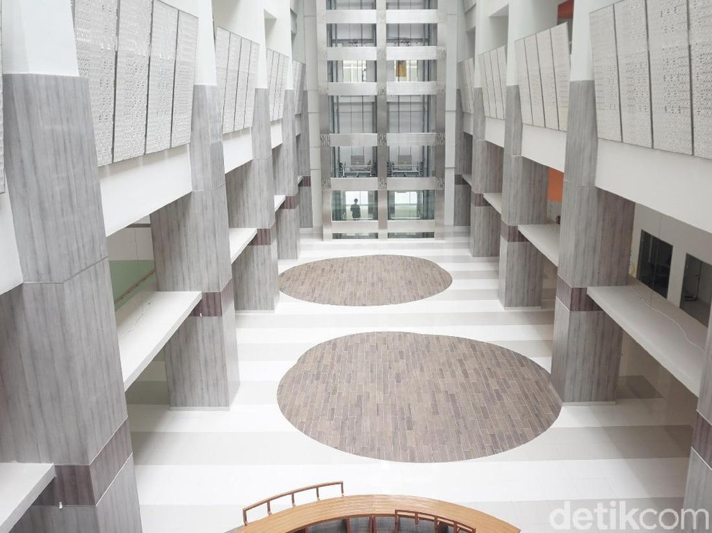 Foto: Ini Lho RSUI Depok, Rumah Sakit Pertama yang Tahan Gempa 9 SR