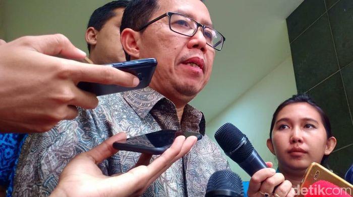 Joko Driyono, plt ketua umum PSSI (Samsudhuha Wildansyah/detikSport)