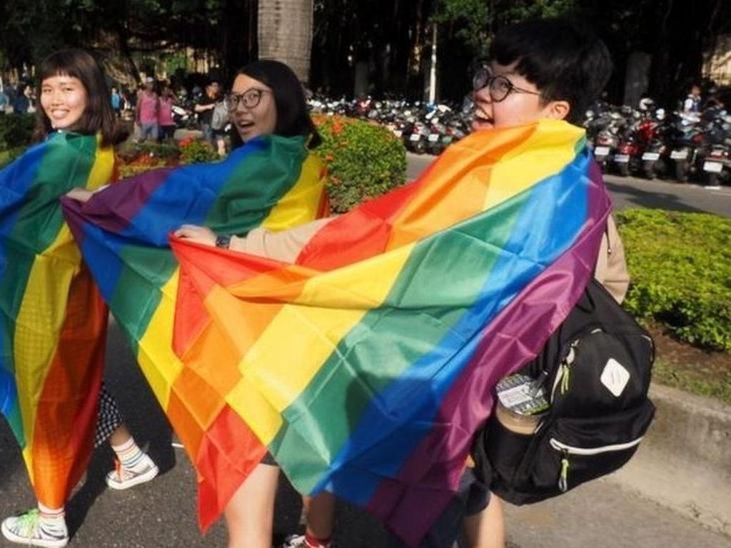 Taiwan Ajukan RUU Pernikahan Sesama Jenis, Akankah Disetujui Parlemen?