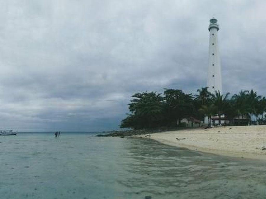 Yang Wajib di Pulau Lengkuas, Snorkeling