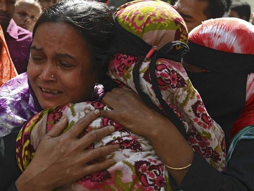 Kebakaran Dahsyat di Ibu Kota Bangladesh, Korban Bertambah Jadi 78 Orang
