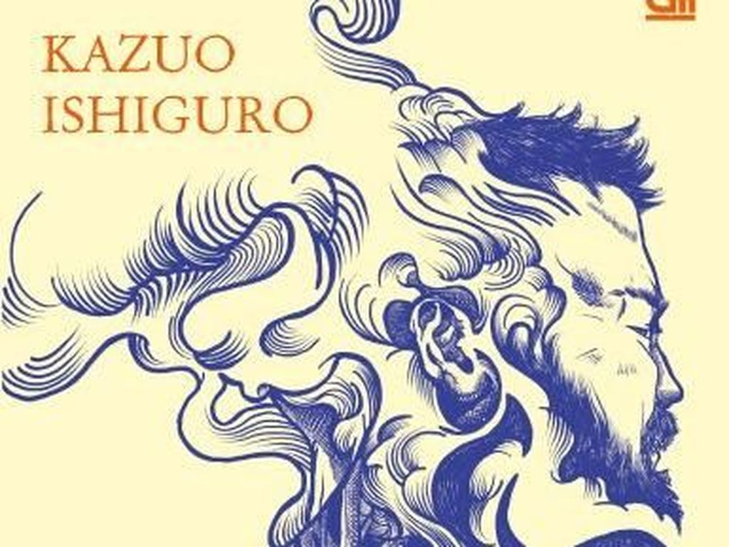 Begini Sampul Novel Kazuo Ishiguro The Buried Giant Versi Bahasa Indonesia