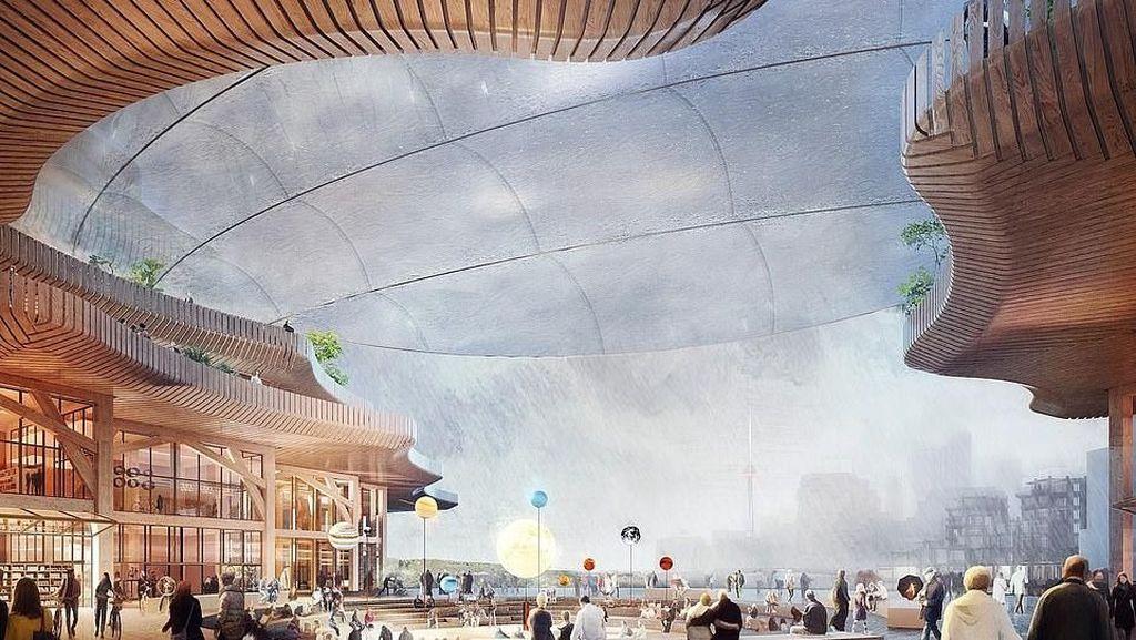 Mengintip Kota Futuristis Impian Google