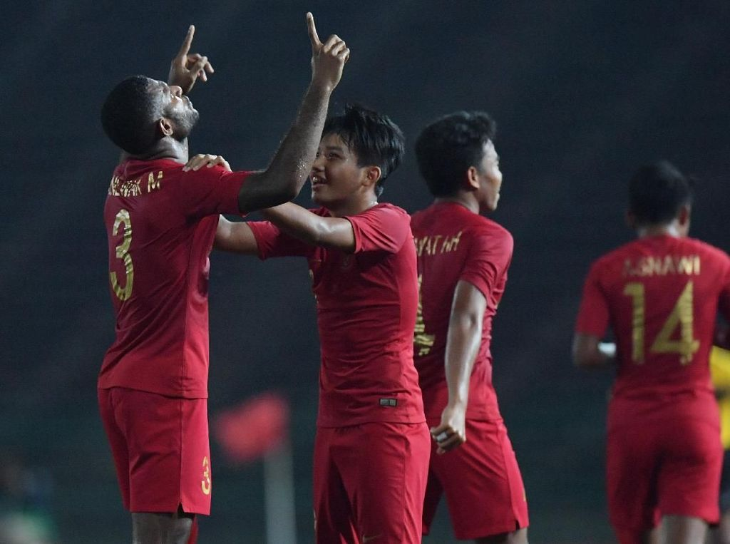Menpora Imam Nahrawi Nonton Langsung Timnas U-22 Vs Thailand