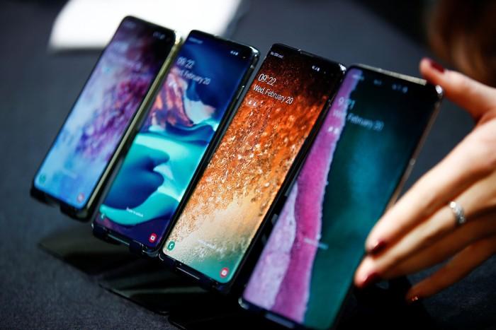 Samsung Galaxy S10. Foto: Reuters