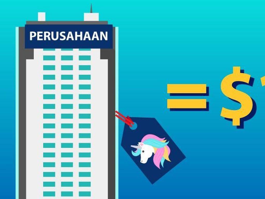 5 Unicorn Indonesia, Ini Daftar Lengkapnya