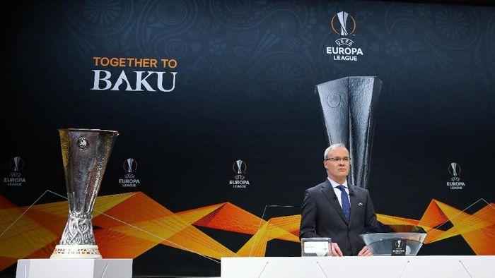 Drawing 16 besar Liga Europa 2018/2019 (REUTERS/Denis Balibouse)