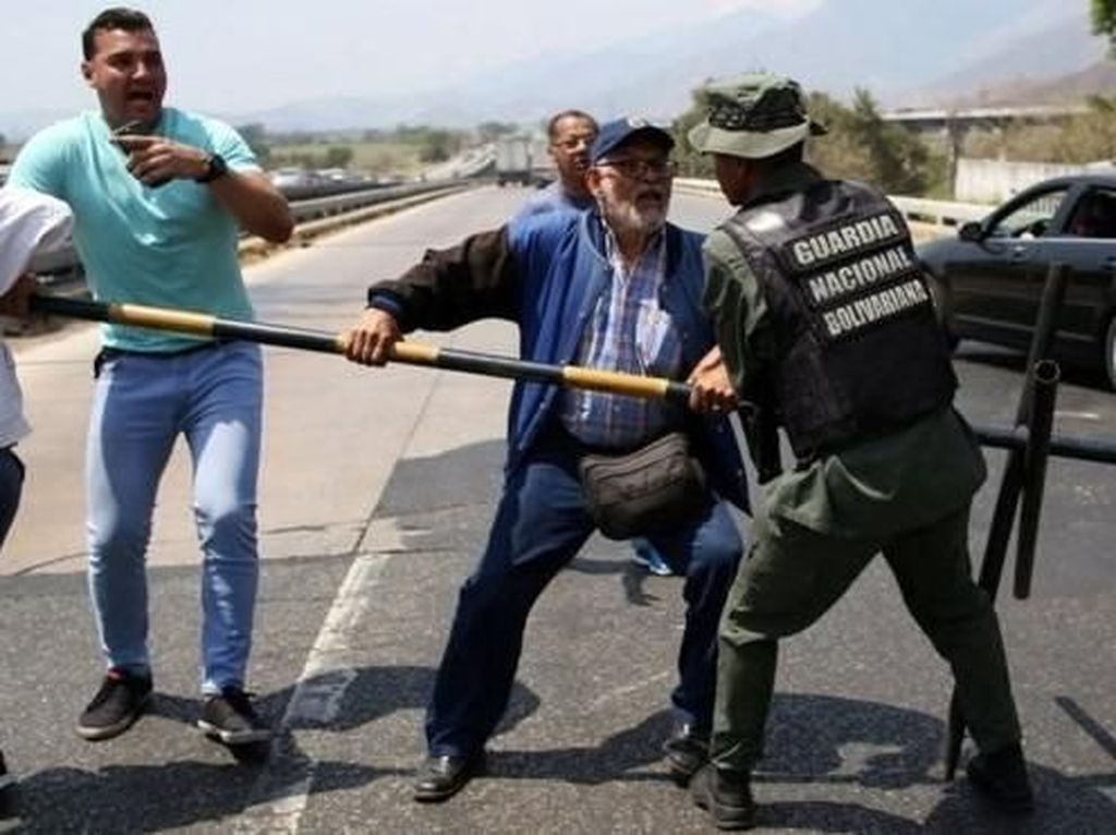 Polemik Bantuan Asing, Maduro Tutup Perbatasan dengan Brasil