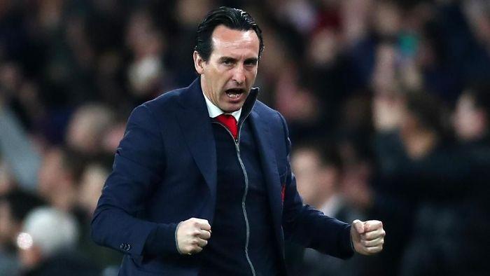 Unai Emery menyebut Arsenal sebagai salah satu kandidat juara Liga Europa 2018/2019 (Foto: Clive Rose/Getty Images)