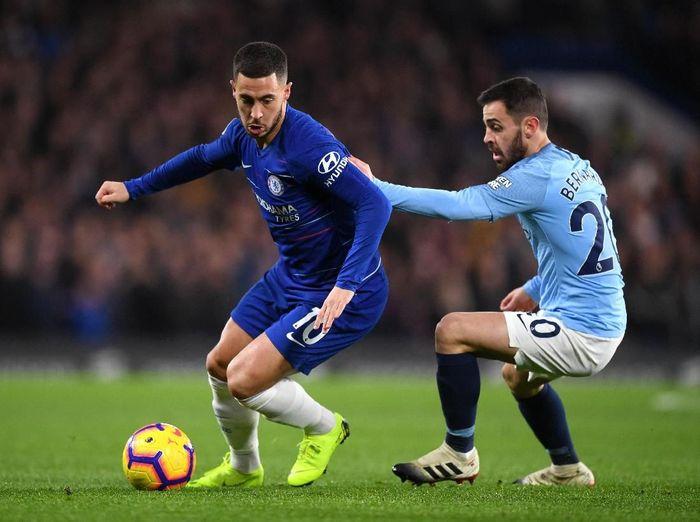 Bernardo Silva yakin Man City tidak akan menang besar lagi melawan Chelsea di final Liga Inggris. Foto: Shaun Botterill / Getty Images