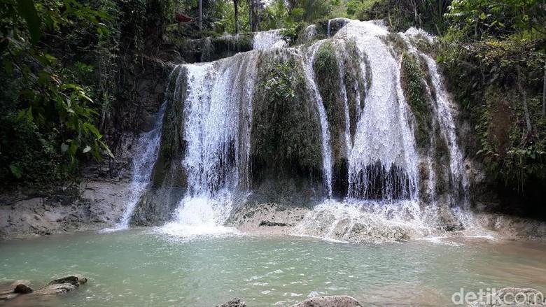 Air Terjun Jurang Pulosari di Bantul (Pradito Rida Pertana/detikTravel)