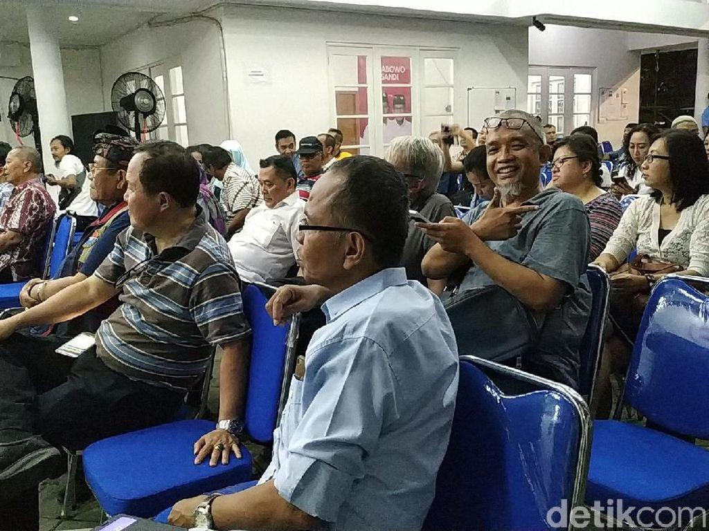 Temui Penghuni Apartemen Se-Jakarta, M Taufik Puji Anies Prorakyat