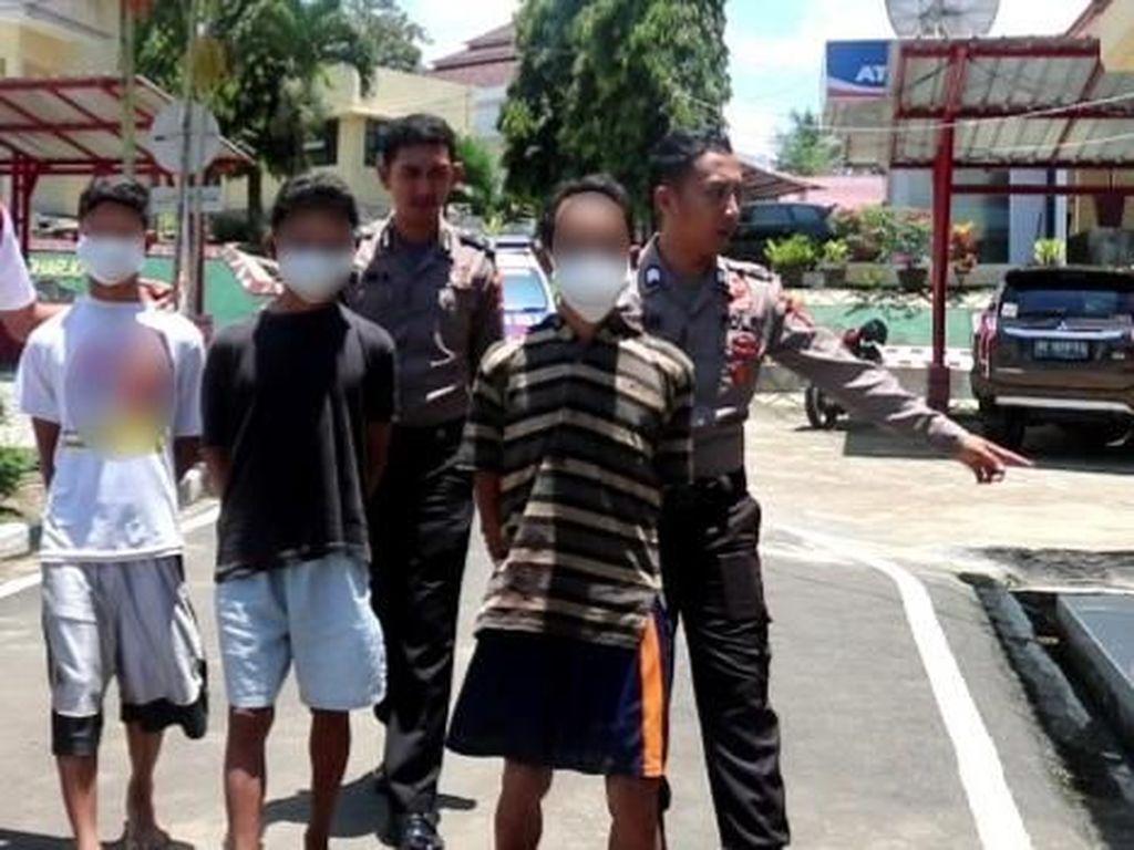 Foto: Ini Ayah dan Dua Anaknya Pelaku Incest di Lampung