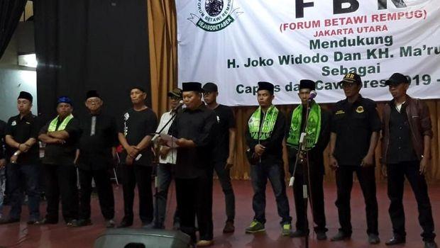 Dulu di Pangkuan Prabowo, FBR Kini Dukung Jokowi