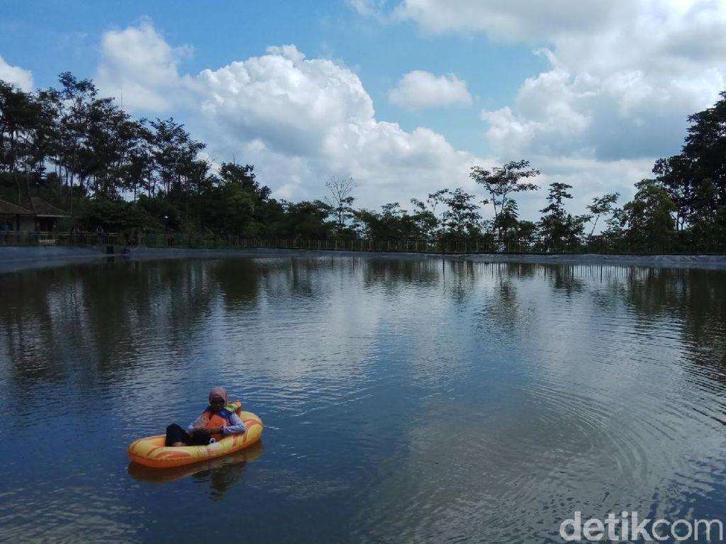 Potret Danau Sejuk di Kaki Gunung Ungaran Semarang