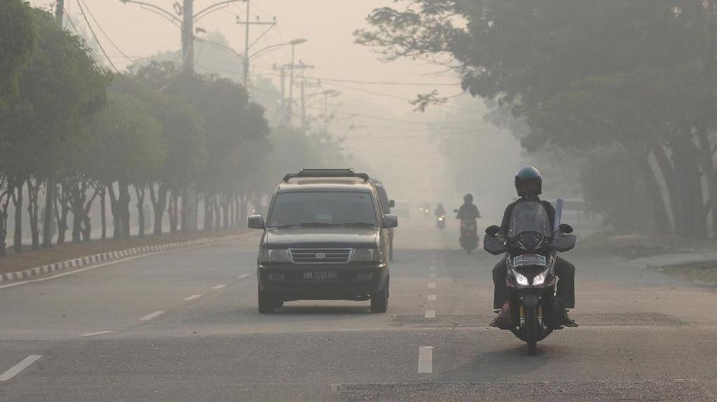 Kabut Asap Selimuti Dumai, Sekolah Diliburkan