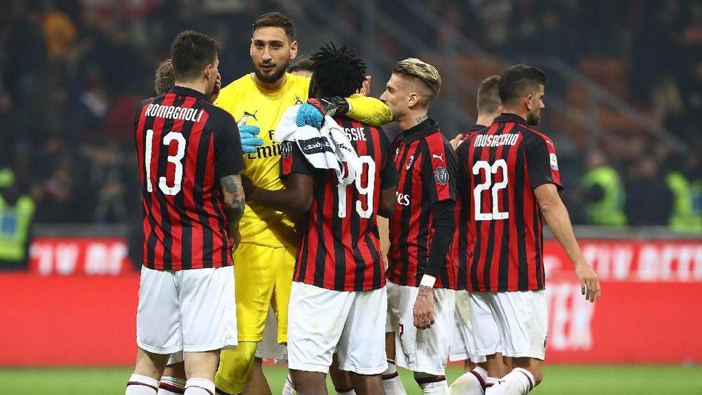 Video 3 Gol Kemenangan Milan atas Empoli