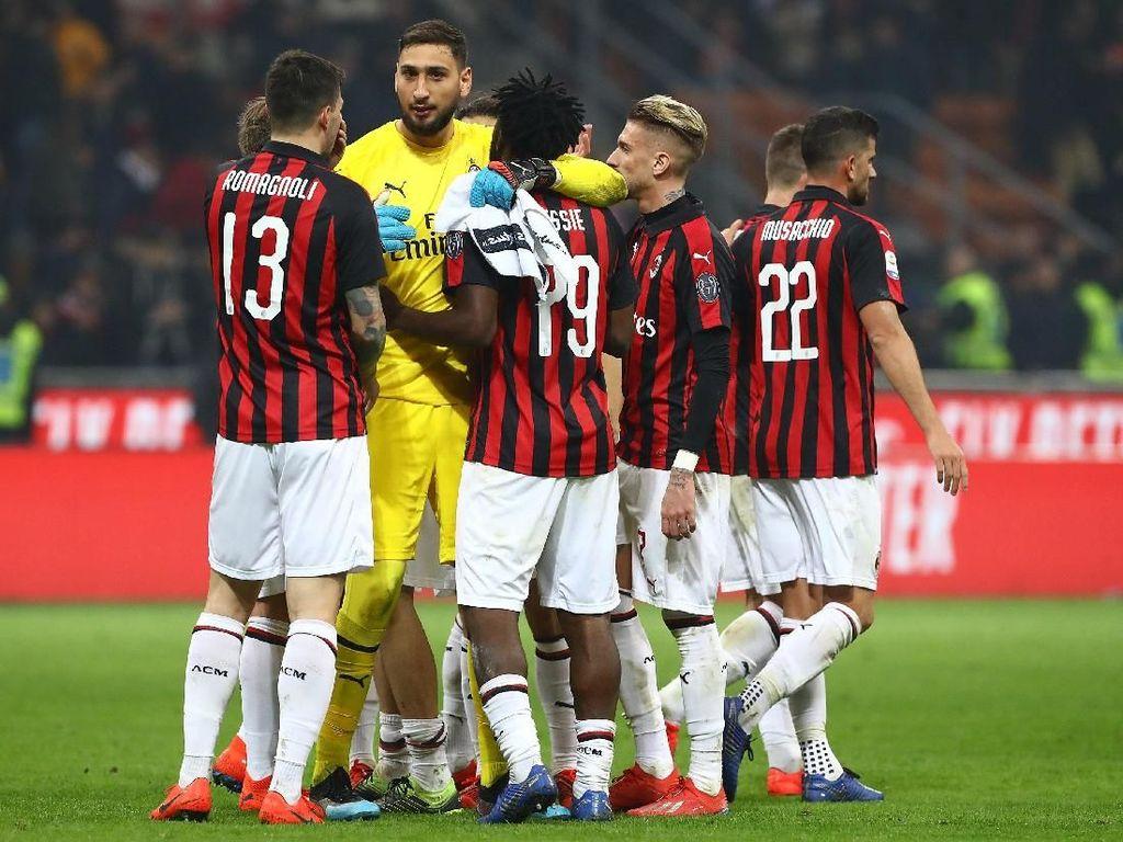 Milan Menjauh dari Liga Champions