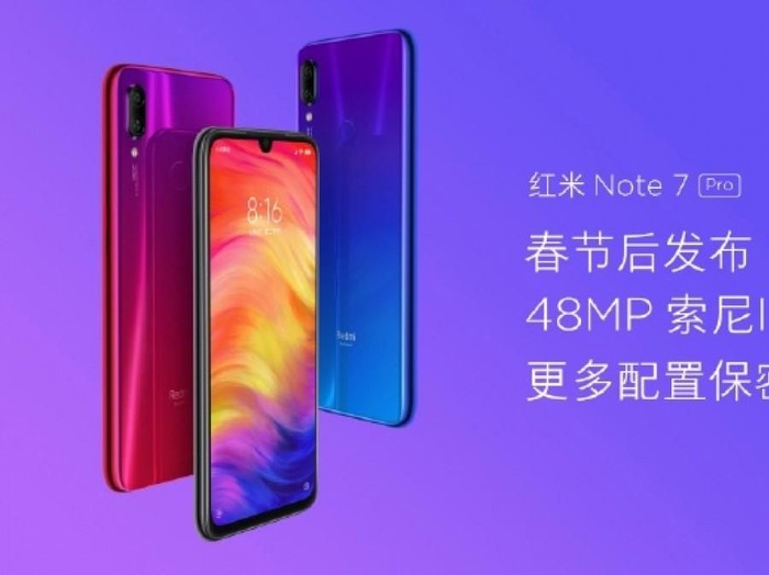Redmi Note 7. Foto: Weibo via GSM Arena