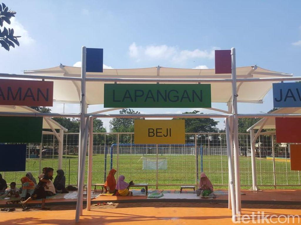 Liburan Bebas Stress di Depok, Main ke Taman Kota yang Baru