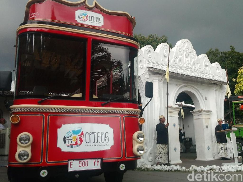 Bayar Rp 5 Ribu, Citros Siap Antar Keliling Tempat Wisata Cirebon