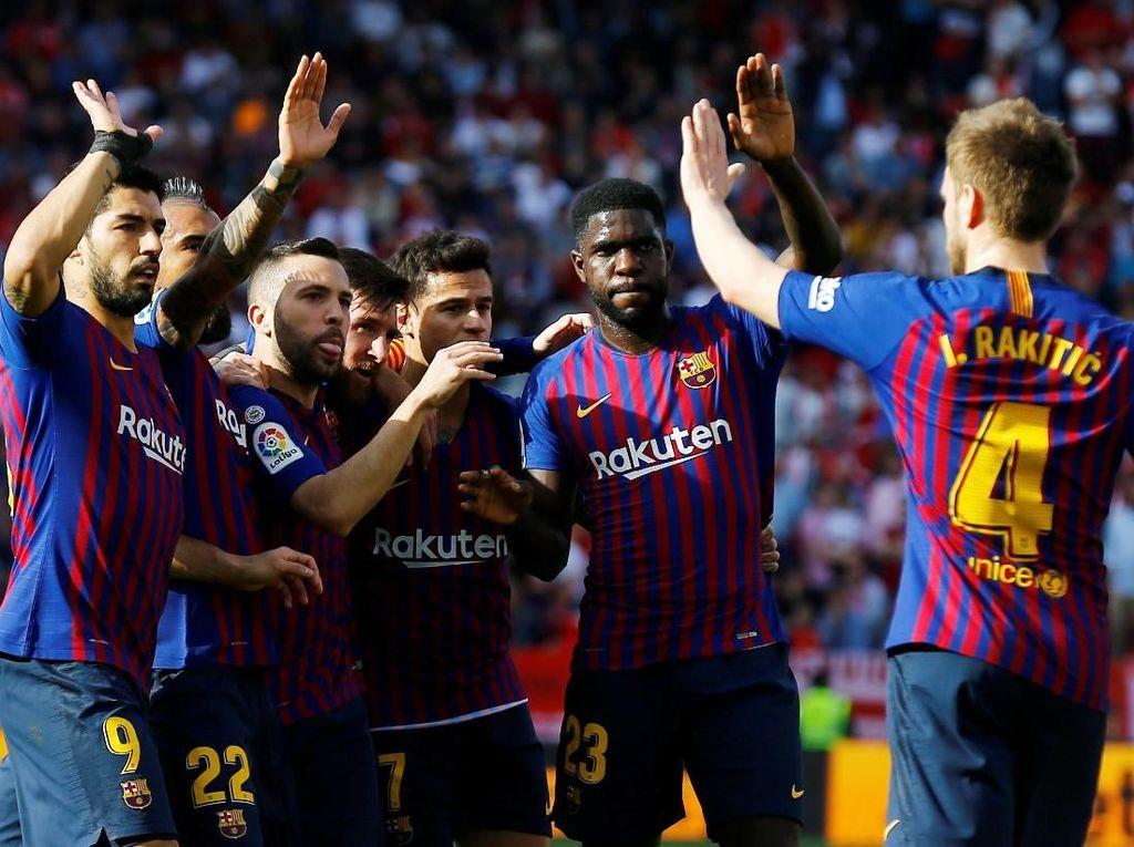 Barca Menang karena Perubahan Taktik Valverde