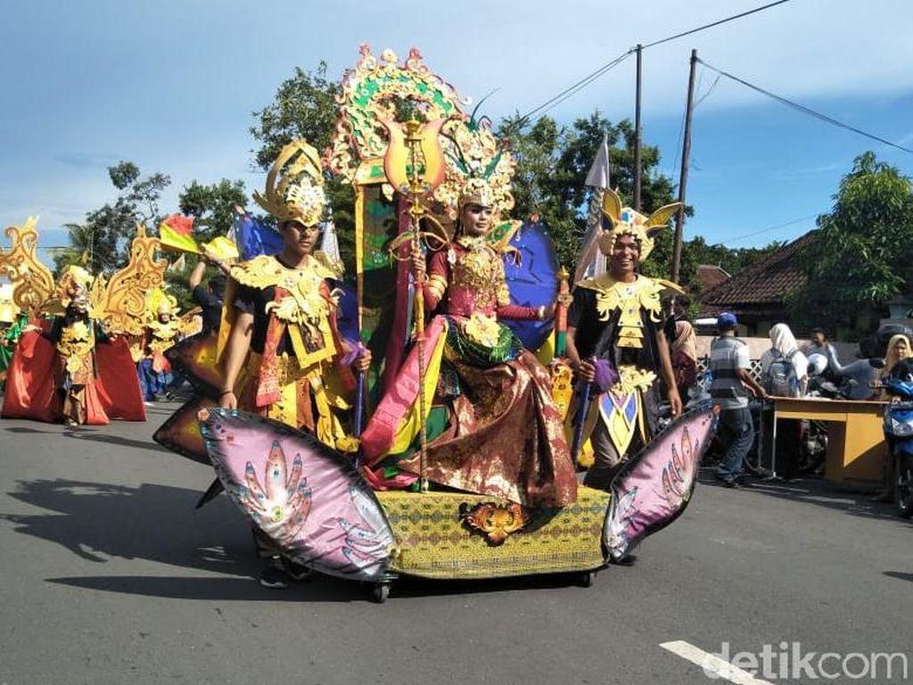 Meriahkan Pesona Bau Nyale 2019, Mandalika Fashion Carnaval Digelar