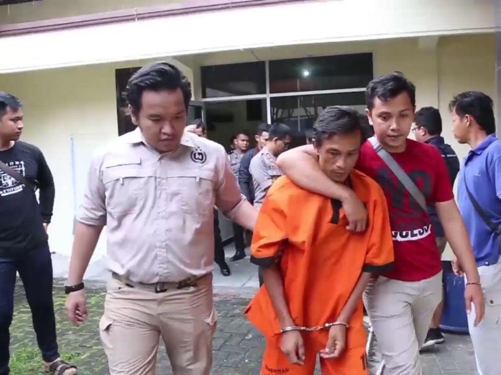 Tampang Rizal yang Bunuh Bos Domi karena Istri Ditawar Rp 200 Ribu