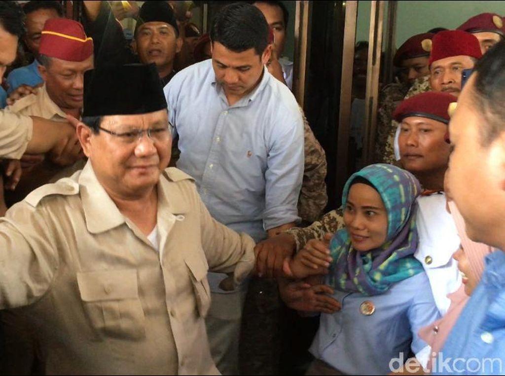 Ingatkan Jenderal TNI-Polri, Prabowo: Kekuasaanmu dari Rakyat!