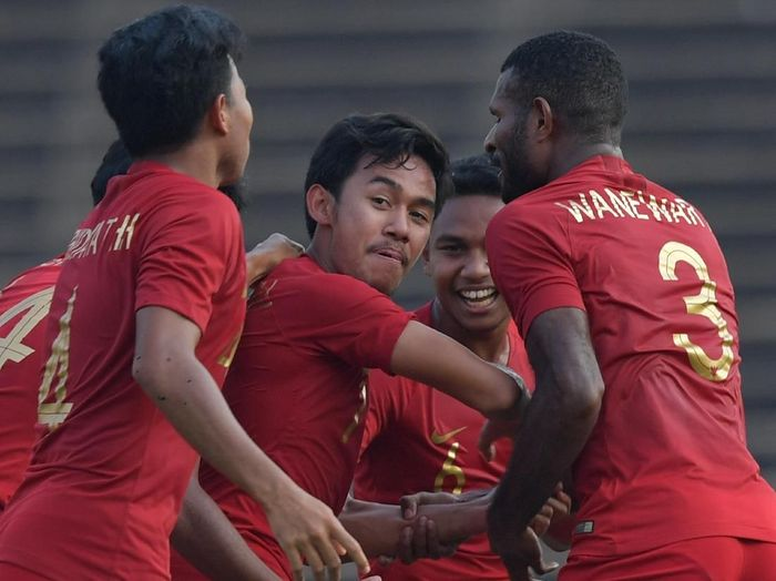 Pemain Timnas Indonesia U-23, Muhamad Luthfi Kamal, yang diwaspadai Thailand. (Foto: Nyoman Budhiana/ANTARA)