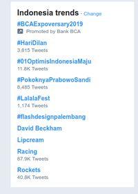 Hari Dilan Trending di Twitter