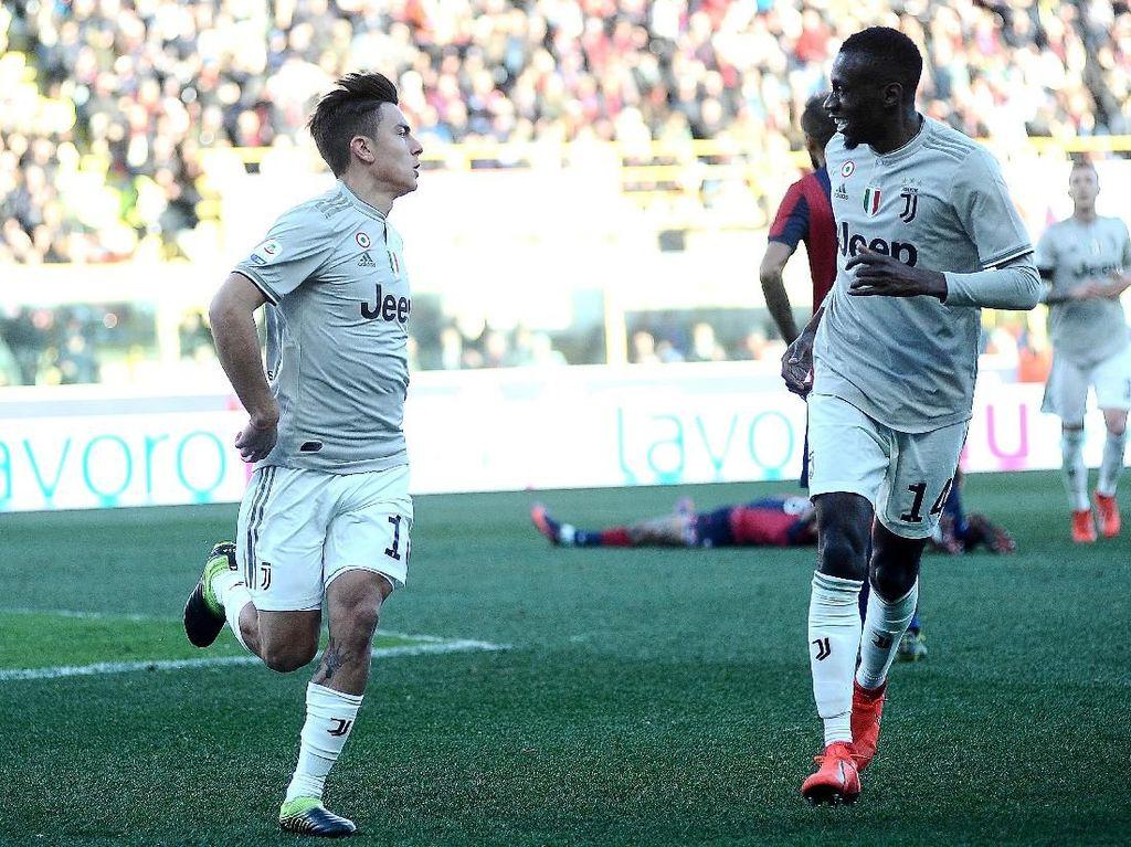 Hasil Liga Italia: Dybala Menangkan Juventus di Kandang Bologna