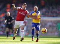 Arsenal Unggul 2-0 atas Southampton di Babak Pertama