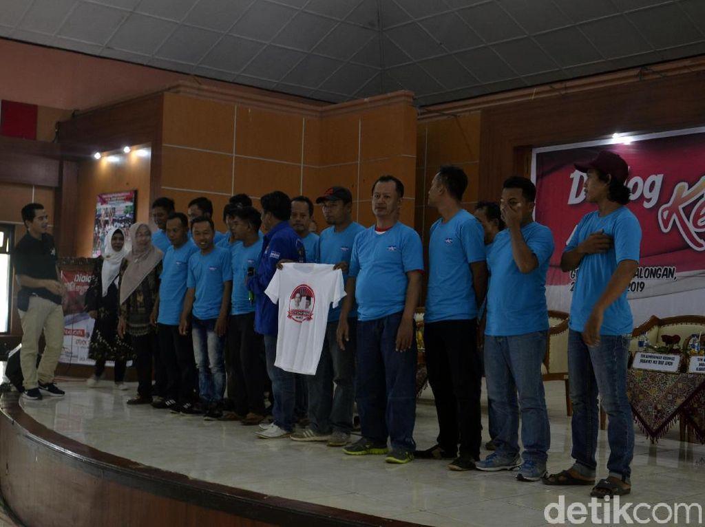 Kader Partai Demokrat Pekalongan Deklarasi Dukung Dukung Jokowi
