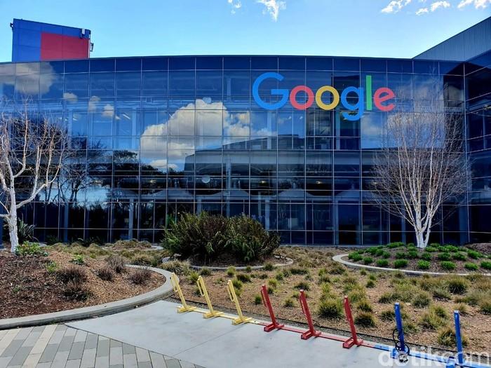 Ilustrasi kantor pusat Google. Foto: Muhamad Imron Rosyadi/detikINET