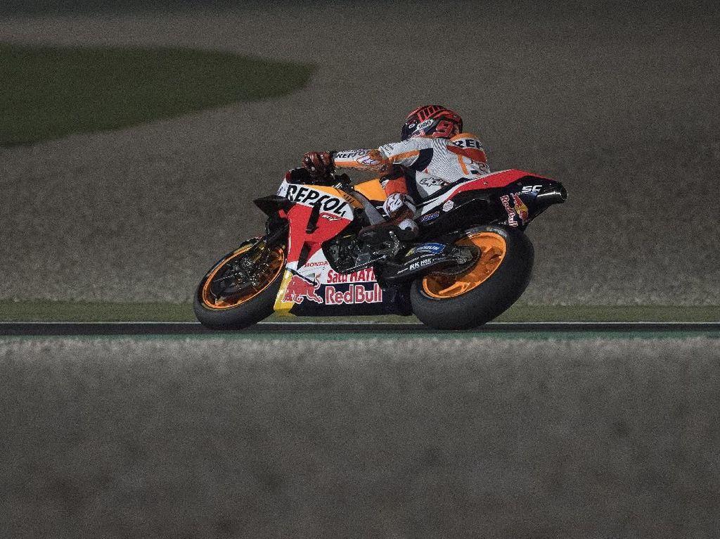 Hari Kedua Tes MotoGP Qatar Berjalan Positif untuk Marquez