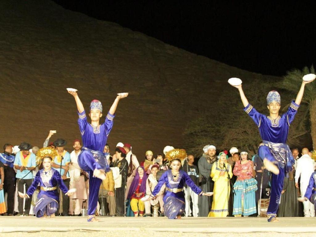 Tarian Nusantara Meriahkan Festival Budaya Internasional Aswan