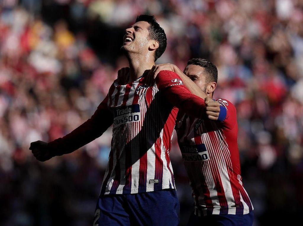 Senangnya Morata Bakal Dipermanenkan Atletico dan Dapat Nomor 9