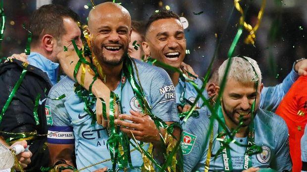 Vincent Kompany dan Sergio Aguero adalah bagian penting dari sukses Manchester City.