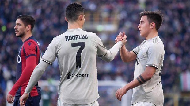 Paulo Dybala meredup sejak kehadiran Cristiano Ronaldo.