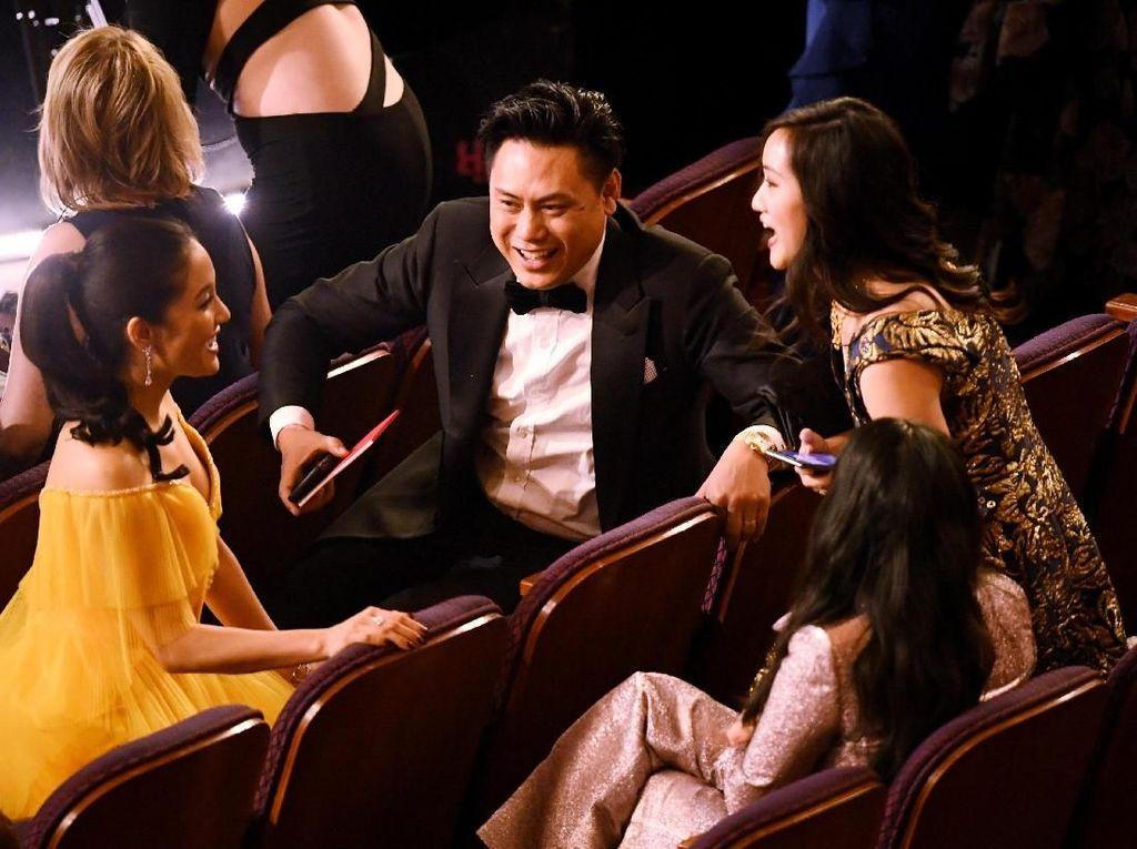 Kemeriahan Oscar 2019, Anggita Sari Tak Diakui sebagai Istri