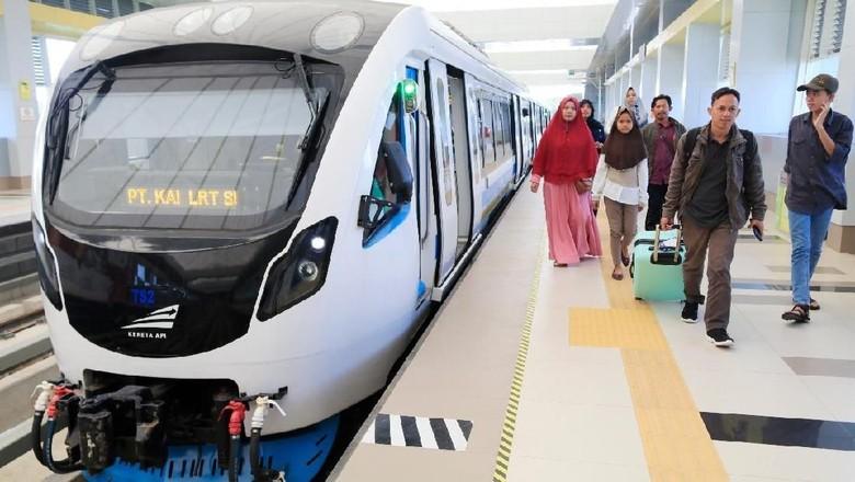 LRT Palembang | Sumber: PT KAI