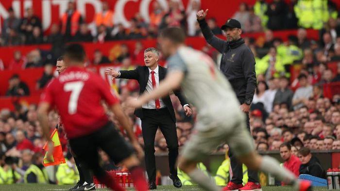 Taktik melatih Ole Gunnar Solskjaer di Manchester United disebut Louis van Gaal lebih mirip Jose Mourinho ketimbang Sir Alex Ferguson. (Foto: Lee Smith/Actions Images via Reuters)