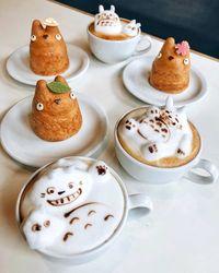 Di Kafe Ini Bisa Bebas Pesan Latte Aneka Karakter 3D yang Lucu
