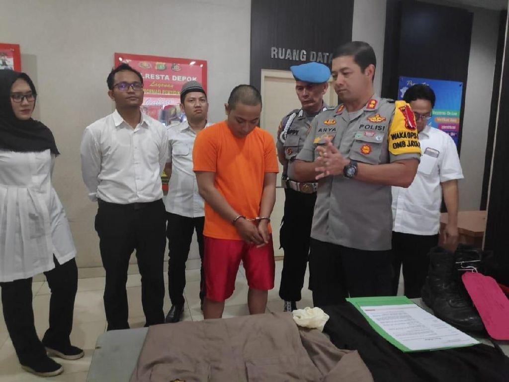 Pacar yang Emasnya Dicuri Polisi Gadungan di Depok Pengusaha Laundry