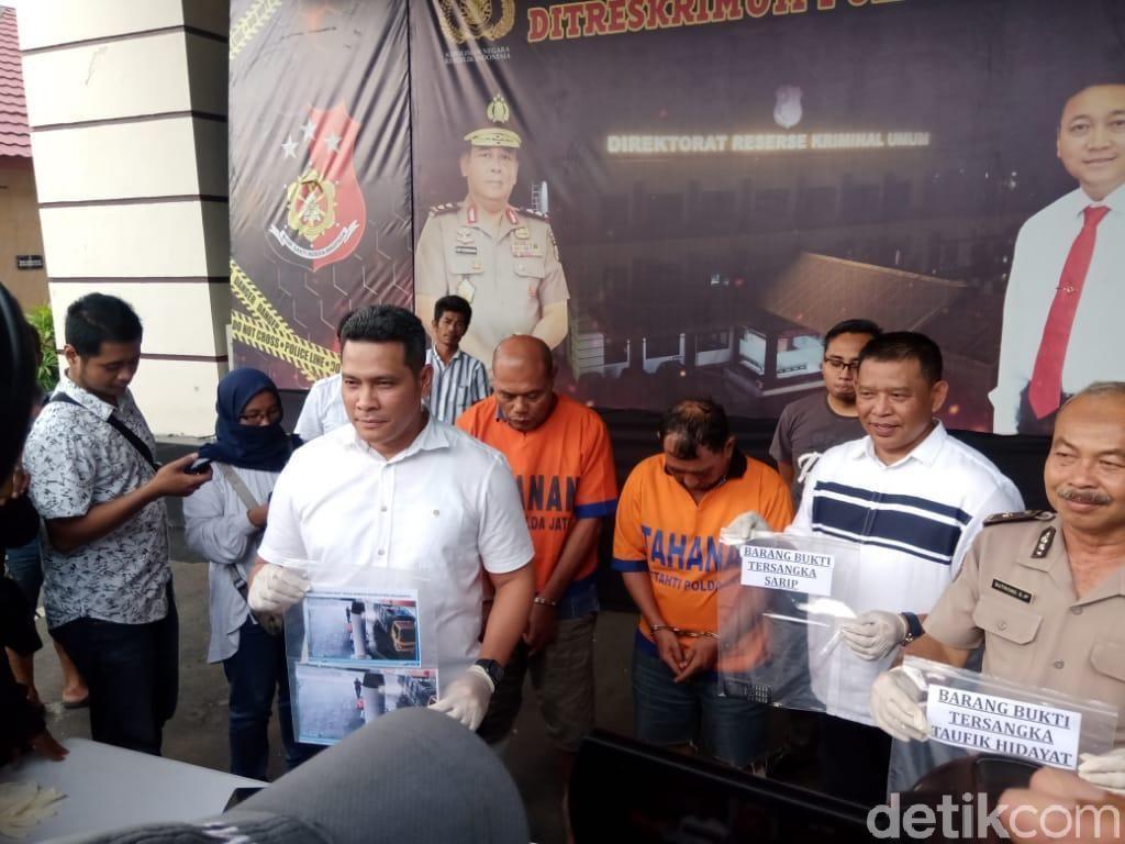Racuni Sopir dengan Nasi Padang, 2 Pencuri Truk Reuni di Tahanan Polisi